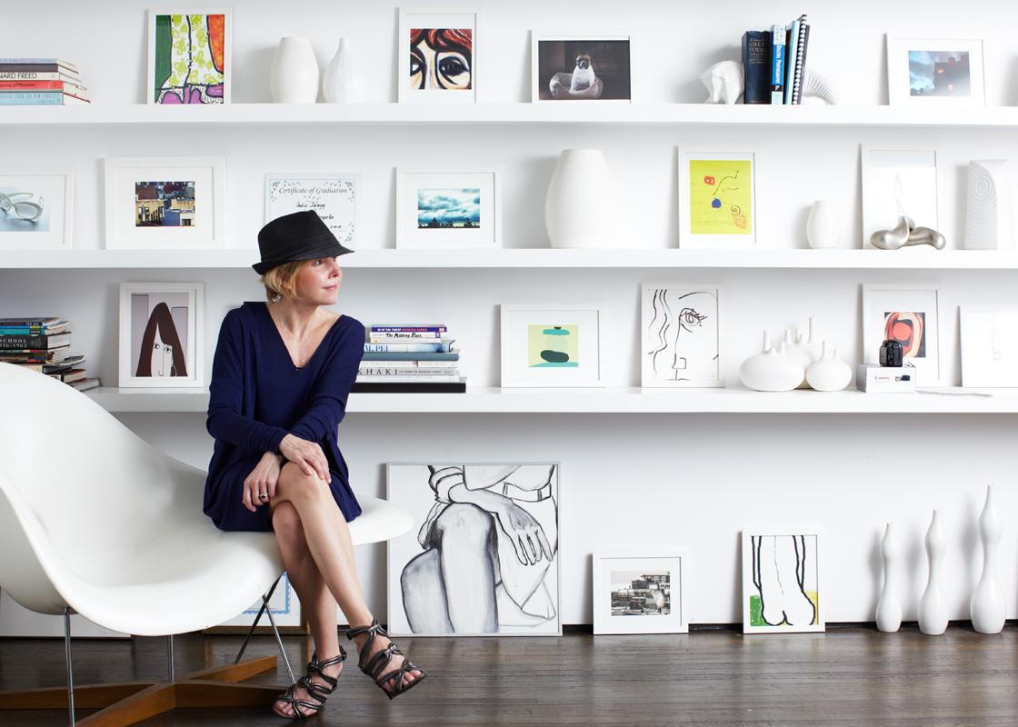 Kathy Delaney Portrait in her Manhattan Home