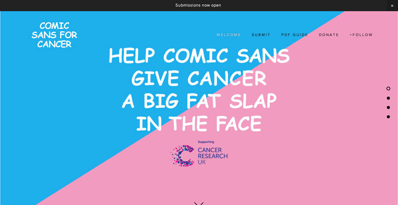 Comic-Sans-For-Cancer
