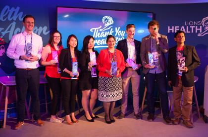 RB & Lions Health Innovation Hack winning team FINAL