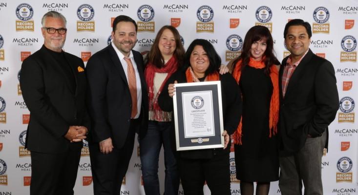 McCann Health Guinness World Record