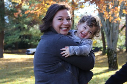 Kate Cannova and son John